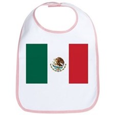 Flag of Mexico Bib