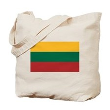 Flag of Lithuania Tote Bag