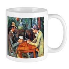 The Card Players Mug