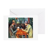The Card Players Greeting Card