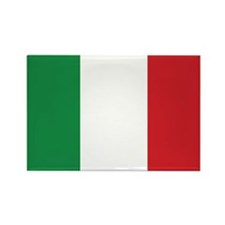 Flag of Italy Rectangle Magnet (100 pack)