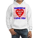 One Nation Under God Hooded Sweatshirt