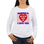 One Nation Under God Women's Long Sleeve T-Shirt
