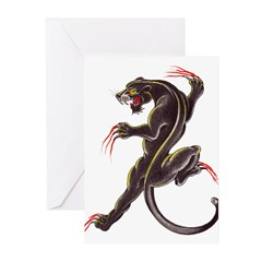Black Panther Greeting Cards (Pk of 10)
