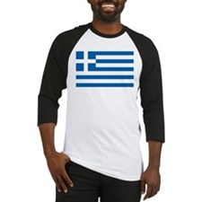 Flag of Greece Baseball Jersey