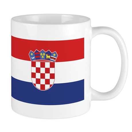 Flag of Croatia Mug