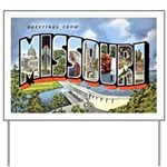 Missouri Greetings Yard Sign