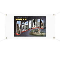 North Carolina Greetings Banner