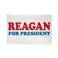 Reagan for President Rectangle Magnet (10 pack)