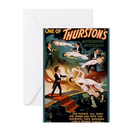 Thurston's Astounding Mysteries Greeting Cards (Pk