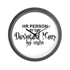 HR Devoted Mom Wall Clock