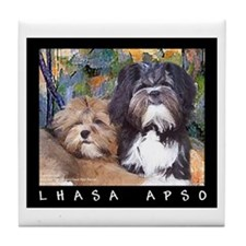Free Spirit Puppies Tile Coaster