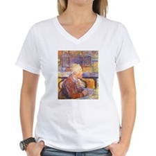 Pastel of van Gogh Shirt