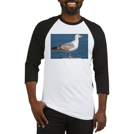 Seagull Photo Baseball Jersey