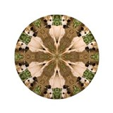 "Dingo Mandala 3.5"" Button (100 pack)"