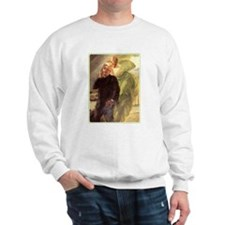Albert Maignan - Green Muse Sweatshirt