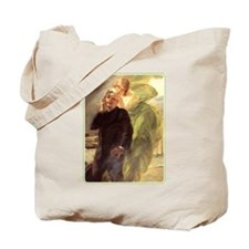Albert Maignan - Green Muse Tote Bag
