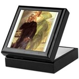 Albert Maignan - Green Muse Keepsake Box