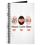 Peace Love Run 13.1 Journal