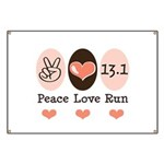 Peace Love Run 13.1 Banner