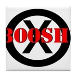 Frisky Dingo- BOOSH! Tile Coaster