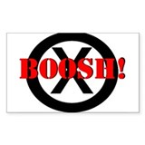 Frisky Dingo- BOOSH! Rectangle Sticker 10 pk)