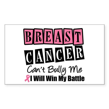 BC Can't Bully Me Rectangle Sticker 10 pk)
