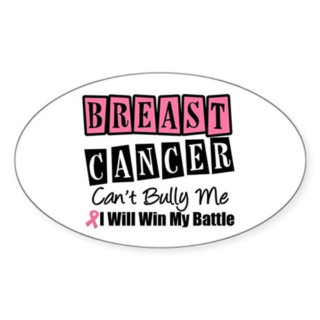 BC Can't Bully Me Oval Sticker (10 pk)