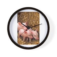 Piglets Photo Wall Clock