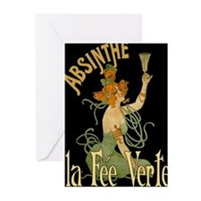 La Fee Verte Greeting Cards (Pk of 10)