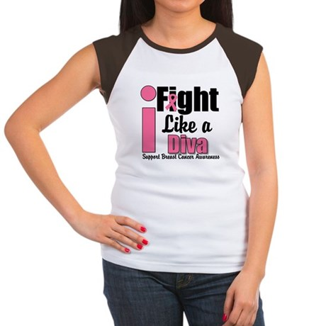 I Fight Like A Diva Women's Cap Sleeve T-Shirt