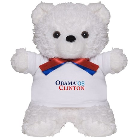 Obama Clinton '08 Teddy Bear