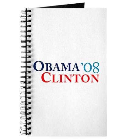 Obama Clinton '08 Journal