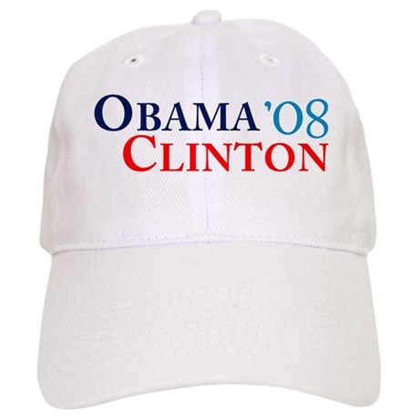 Obama Clinton '08 Cap
