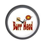 Burr Head Wall Clock