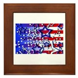 STARS & STRIPES Framed Tile