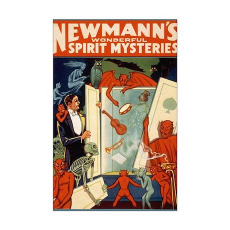 Newmann The Magician Mini Poster Print