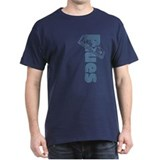 Harmonica Blues Vert. T-Shirt