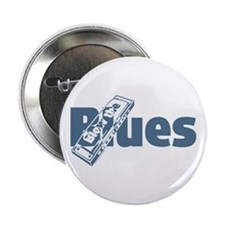 "Harmonica Blues 2.25"" Button"