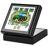 Tractor Tough 40th Keepsake Box