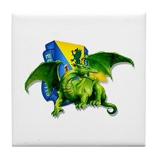 Dragon Soldier Tile Coaster
