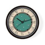 Vintage Billiards Wall Clock