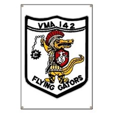 VMA 142 Flying Gators Banner