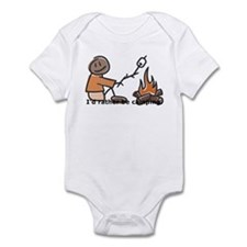 Campfire Rather be camping Infant Bodysuit