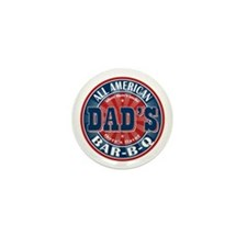 Dad's All American Bar-B-Q Mini Button (10 pack)