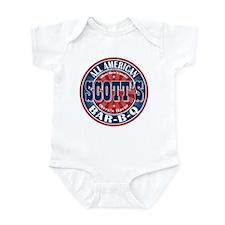 Scott's All American Bar-B-Q Infant Bodysuit