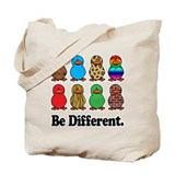 Be Different Ducks Tote Bag