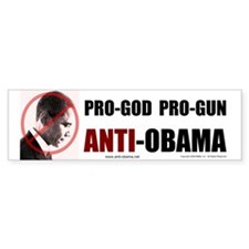 Pro-God Pro-Gun - Bumper Sticker (10 pk)