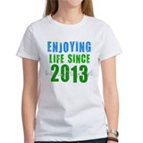 Enjoying Life Since 2013 Tee