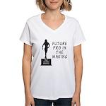 Future Pro V2 Women's V-Neck T-Shirt